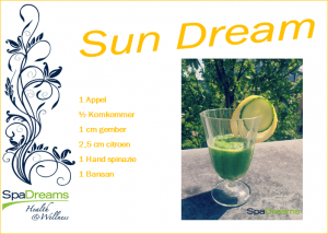 Detox smoothie SpaDreams NL Sun Dream