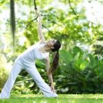 De driehoek – Versterking van de rug door yoga