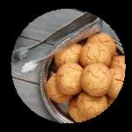 Koekjes in Ayurvedische stijl met kardemom