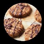 Overheerlijke Havermout-Walnoot  koekjes